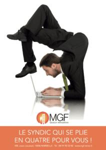 campagne MGF contorsionniste