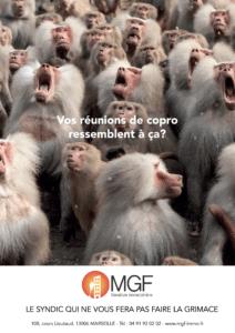 campagne MGF singes